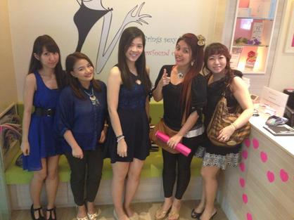 Bloggers at Slimming 101